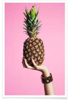 Pineapple - Premium poster