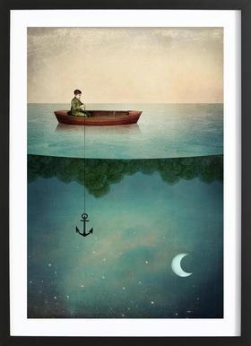 Entering Dreamland Poster i träram