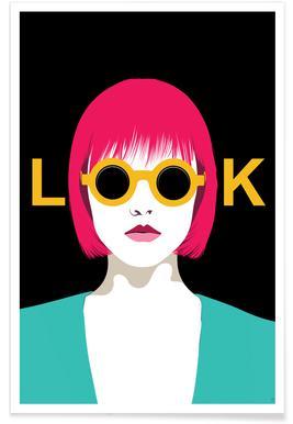 Look - Premium Poster