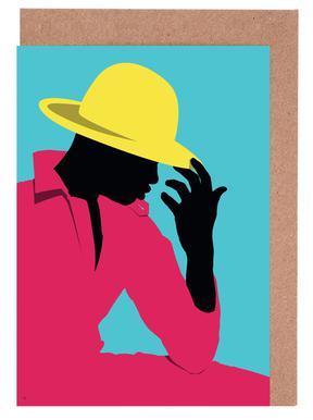 Menswear 3 - Hat Greeting Card Set