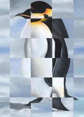 Penguin toile