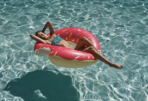Pool Affairs Acrylic Print