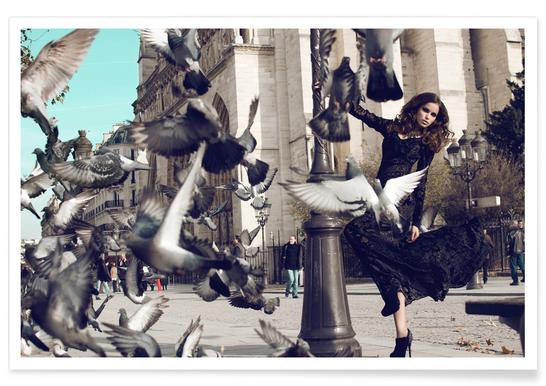Doves in Paris II