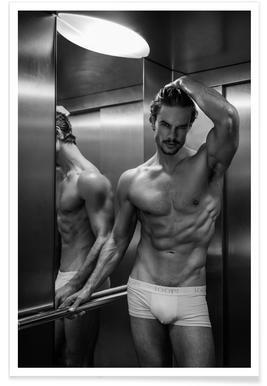 Always Take The Elevator II Poster