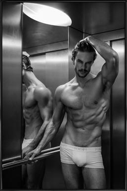 Always Take The Elevator II Framed Poster