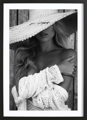 You See Me? Framed Print