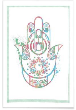 Fatima Hand -Poster
