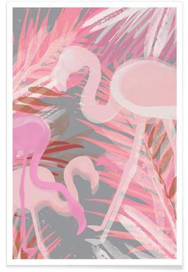 Flamingo - Premium poster