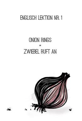 Onion Impression sur alu-Dibond