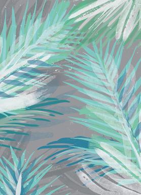 Palm toile
