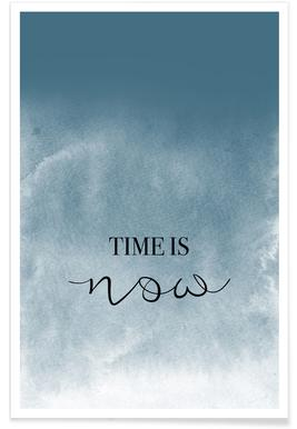 Time Is Now -Poster