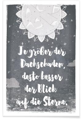 Dachschaden -Poster