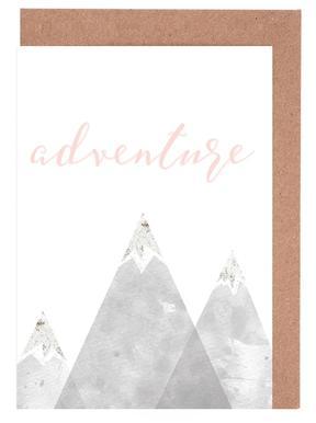 Adventure -Grußkarten-Set