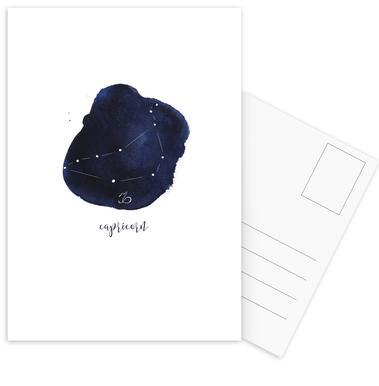 Capricorn -Postkartenset