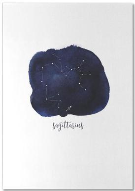 Saggitarius -Notizblock