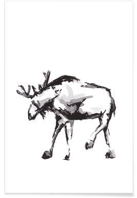 Elk -Poster