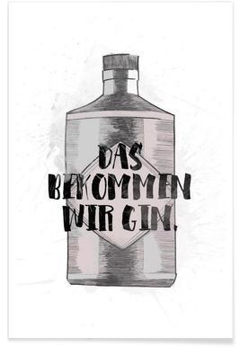 Gin - Premium Poster