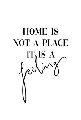 Home Is a Feeling Acrylic Print