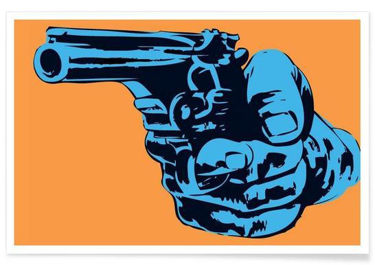Gun 4 - Premium Poster