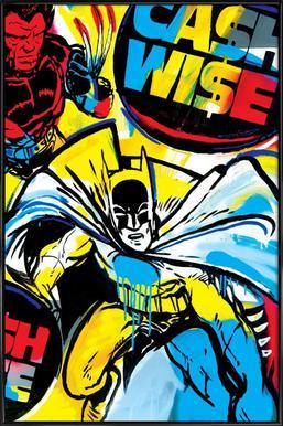 Cash Wise - Poster in Standard Frame