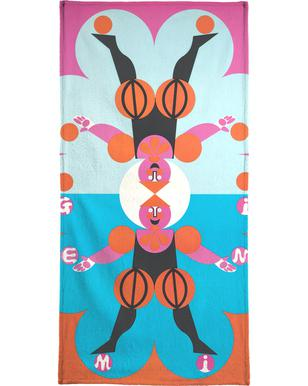 Gemini Bath Towel