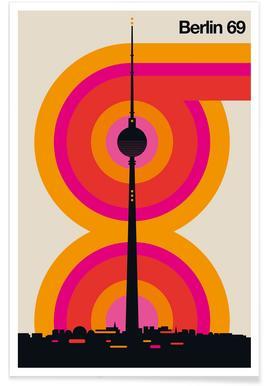 Berlin Subway Map Poster.Buy Berlin Prints And Posters Online Juniqe
