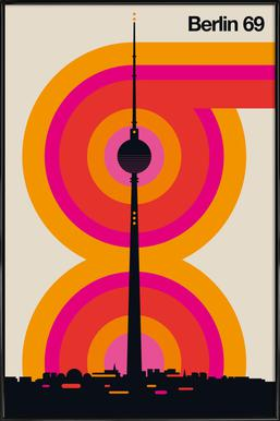 Berlin 69 Framed Poster
