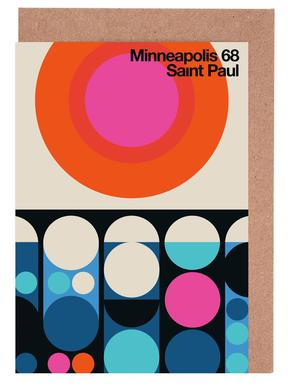 Minneapolis-Saint Paul 68 Greeting Card Set