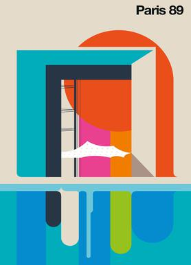 Paris 89 Canvas Print