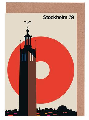 Stockholm 79 Greeting Card Set