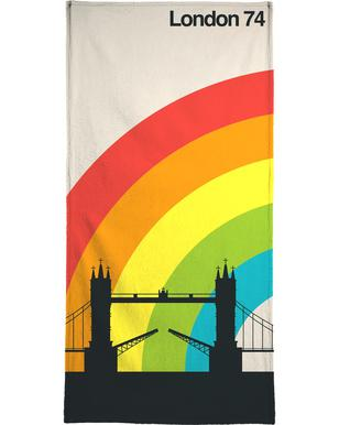 London 74 Bath Towel