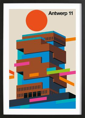 Antwerp 11 Framed Print