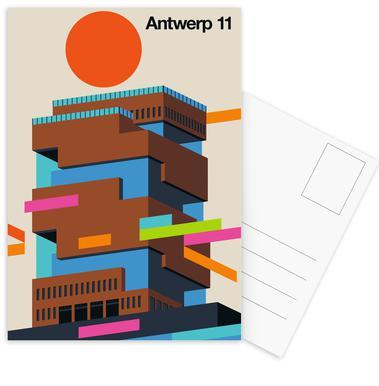 Antwerp 11 Postcard Set