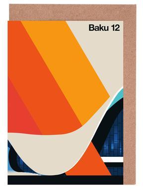 Baku 12 Greeting Card Set