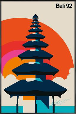 Bali 92 Framed Poster