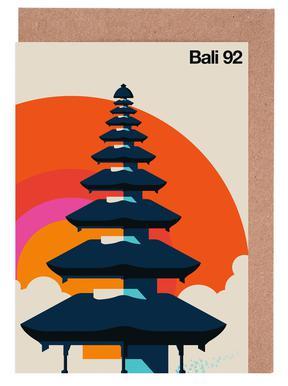 Bali 92 Greeting Card Set