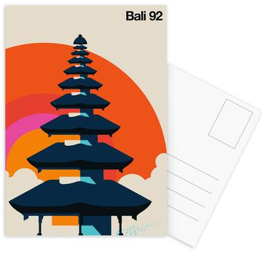 Bali 92 Postcard Set
