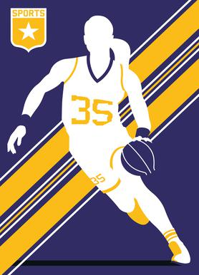 Basketball 3 Canvas Print