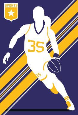 Basketball 3 Acrylic Print