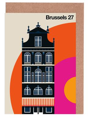Brussels 27 Greeting Card Set