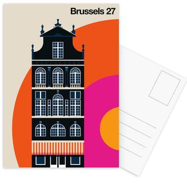 Brussels 27 Postcard Set
