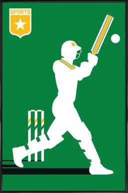 Cricket Framed Poster