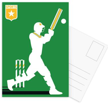 Cricket Postcard Set