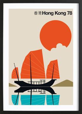 Hong Kong 78 Framed Print