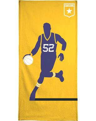 Basketball serviette de bain