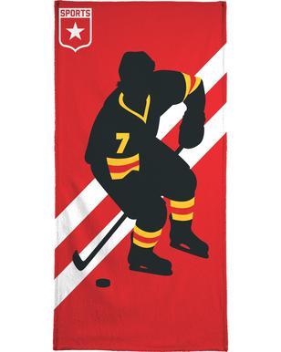 Ice Hockey -Handtuch