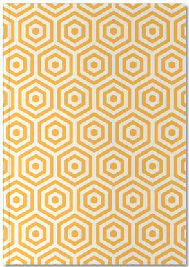 Yellow Beehive Notebook