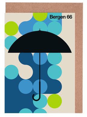 Bergen 66 Greeting Card Set