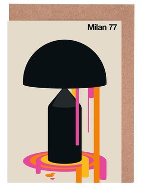 Milan 77 Greeting Card Set