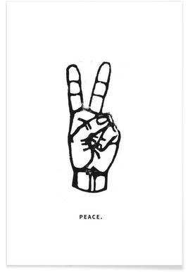 Peace - Premium poster